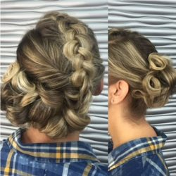 updo for an event