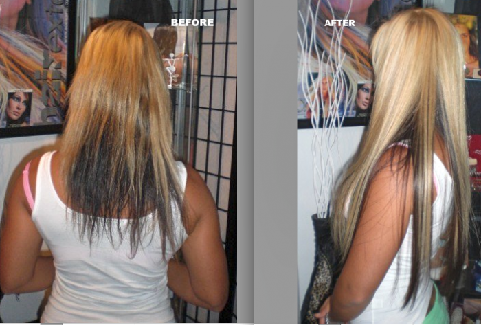 Hair Extension In Palatine Il Seamless Hair Extensions
